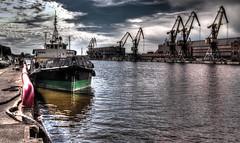 Ventspils (ArnoldasIvanauskas) Tags: city nature port photography dock nikon ship cranes venta ventspils nikond3100