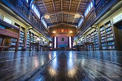 Cushing/Whitney Medical Library, Yale University (jev) Tags: angle wide hdr highdynamicrange wate yaleuniversity leicam9 trielmar161821mm leicaimages cushingwhitneymedicallibrary