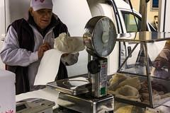 Il Trippaio (Bianca.white) Tags: banco carne toscana mercato artigiano bilancia piatto trippa tipico furgone anziano lavoratore