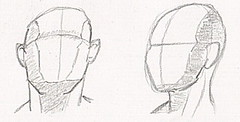 Head shapes training (N-11 Ordo) Tags: head drawing shapes drawings learning weekly learn ordo n11