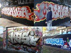 other bits from last year 2012... (Massiwarrior.....) Tags: red silver masi chrome bubble dub freaks peckham westlondon 2012 trellick fal masika towerhamlets anik masica masicre masiker masaika