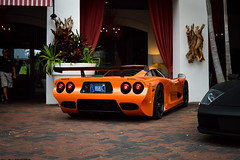 Mosler MT900S (Matthew C. Photography) Tags: orange car racecar 35mm photography hotel nikon matthew c rally wing racing celebration exotic american parked chassis f18 corvette valet mosler 2013 d3200 mt900s