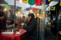 (pablo_martin) Tags: street woman market candid south 28mm korea seoul chopsticks sud corea süd corree namdaeum