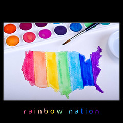 rainbow nation (ANVRecife) Tags: gay red usa macro colors canon watercolor rainbow union marriage civil rights 7d concept monday gaymarriage equals equality blend equal blending civilunion fairness usamap vallejos creativephoto rainbownation creativeconcept conceptphotos macromondays impartiality anvrecife usarainbowflag usarainbowmap
