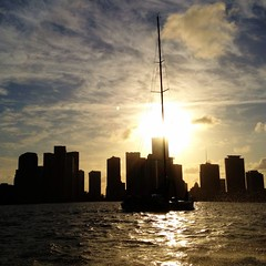 Miami Sailing (miamism) Tags: biscaynebay miamiviews miamiskyline miamirealestate miamisky miamiboating miamisms miamisailing