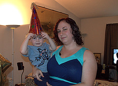 Grayson and Mommy (*Melanie*) Tags: birthday grayson age2
