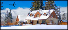 Our Mountain Homes (inneriart) Tags: winter snow storm mountains building sports nature wet water beautiful landscape outdoors photography utah cabin northernutah uintas artist hiking unique fineart creative deep powder h2o adventure saltlakecity american stunning snowshoeing freelance oldfolkshome weberriver familycabin highuintawilderness inneri hannahgalliinneri nikond300s photoshopcs5 inneriart innereyeart inneri wholehannah inneriartcom