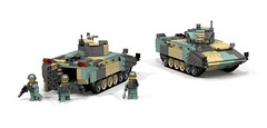 Motor Rifle Division (Legosim) Tags: infantry army rifle peoples vehicle motor fighting spa tracked devision songun zbd11