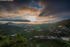 Beautiful morning in Cameron (azirull amin aripin) Tags: sunrise tokina malaysia teh getty tanahrata cameronhighlands equatorial pahang boh ladang gettyimage ringlet d90 leefilter tokina1116