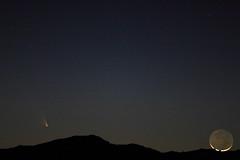 Moon Touch Down (Az Skies Photography) Tags: arizona sky rio skyline night canon skyscape eos rebel az rico comet arizonasky 2013 riorico panstarrs rioricoaz t2i arizonaskyline arizonanightsky canoneosrebelt2i eosrebelt2i arizonaskyscape cometpanstarrs