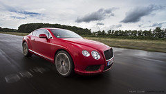 Conti GT V8 (Philippe Collinet Photography) Tags: red motion car speed canon rouge eos movement track driving photoshoot continental 7d gt rood 1022mm v8 bentley tracking 1022 uwa canonefs1022mmf3545usm cartocar canoneos7d wwwphilippecollinetbe bentleycontinentalgtv8 philippecollinetphotography