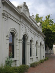 The Former Alexandra Mechanics Institute and Free Library  Corner Grant and Perkins Streets, Alexandra (raaen99) Tags: building heritage urn architecture town education pattern architecturaldetail library painted pillar 19thcentury decoration victorian australia victoria institute alexandra victoriana historical column stucco grantstreet 1877 publiclibrary parapet nineteenthcentury 1890s 1892 1883 classicalarchitecture 1870s 1880s countryvictoria grantst mechanicsinstitute adulteducation heritagelisted countrytown billiardhall architecturalfeature northeastvictoria freepubliclibrary architectunknown provincialvictoria perkinsstreet educationalestablishment victorianfreeclassical stuccoedbrick technicalinstitution victorianfreeclassicalbuilding victorianfreeclassicalarchitecture billardsaloon alexandramechanicsinstitute alexandramechanicsinstituteandfreelibrary