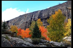 nEO_IMG_IMG_2882 (c0466art) Tags: china trip travel blue autumn trees light red sky mountain color beautiful yellow rock creek canon landscape photo scenery clear 5d  2010  c0466art