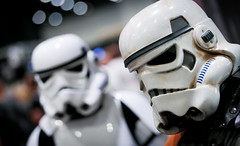1DX_3821 (felt_tip_felon) Tags: starwars force cosplay stormtroopers empire jedi newhope darkside sith darthmaul raypark empirestrikesback returnofthejedi phantommenace excelcentre forceawakens starwarscelebrationeurope2016london