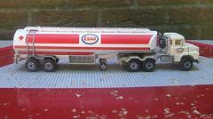 "Scania Tanker ""ESSO"" (streamer020nl) Tags: france toys model majorette 1970s 1980s esso tanker scania diecast jouets"