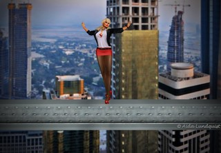 Modeling on a Skyscraper construction site