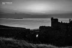 Dunluce Sunset (Paul T McDowell Photography) Tags: 2016 blackandwhitephotography bright camera canonef35mmf2isusm canoneos5dmarkii cloudy colour countyantrim dunlucecastle fineartphotography hiking horizontal image landscapephotographer lens northernireland orientation outdoor paultmcdowell paultmcdowellphotography people photography places sea seascape season summer sunset time unitedkingdom weather year