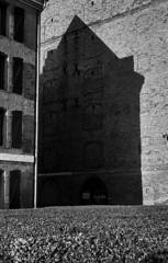 reflections sunset (Yaman Konuralp) Tags: nikon nikonf photomic arebureboke nipponkogaku noir grain noise urban city architecture diy rodinal hc110 r09 standdevelopment shadow iso agfa 100 35mm vintage artistic