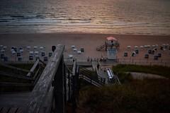 Holliday sundown (markus.homann) Tags: beach ocean northsea sky dawn baywatch sylt sundown westerland