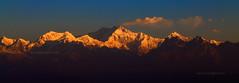Sunrise over Kanchenjunga (woveninlight.com) Tags: mountains tourism sunrise darjeeling sikkim westbengal kanchenjunga mountainpeak darjiling westbengaltourism