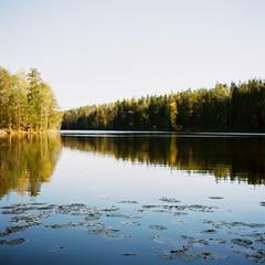 Nuuksion Kansallispuisto (soreikea) Tags: 2015 zenzabronica s2 film analog kodak portra160 helsinki finland travel journey nuuksionkansallispuisto lake