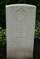 D.R. Rewcastle, Royal Army Medical Corps, 1915, War Grave, Poperinghe (PaulHP) Tags: ww1 world war 1 first graves marker grave headstone military cemetery belgium dr donald robert rewcastle driver service number 1223 24th april 1915 ramc royal army medical corps 3rd london city field amb ambulance poperinghe old jh lc meadcot central rd road moden surrey cwgc