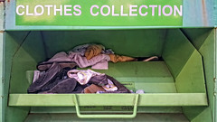 SHOES & CHONIES (akahawkeyefan) Tags: clothes shoes bin collection davemeyer kingsburg green