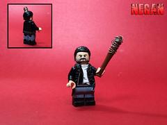 Custom Lego The Walking Dead: Negan (S7) (JerdFigs) Tags: negan the walking dead custom lego