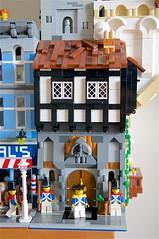 Tudor (mcmorran) Tags: lego bridge constantinebridge modularbuildings tudor