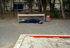Shielded (Anton Novoselov) Tags:  ekaterinburg russia nikon super coolscan ls8000 ed minox 35 gt film 35mm   8000 ls8000ed agfa drunk