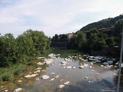 Fiume Reno (Paolo Bonassin) Tags: italy emiliaromagna casalecchiodireno pontedipace bridges ponti bridge ponte fiumi reno rivers fiumereno