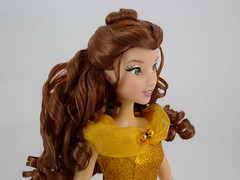 2016 Singing Belle 16 Inch Doll - US Disney Store Purchase - Belle Deboxed - Standing - Portrait Left Front View (drj1828) Tags: us disneystore belle beautyandthebeast singing 16inch 16 lightup interactive 2016 purchase deboxed standing