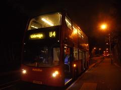 UX's Last EVER U4 (ultradude973) Tags: bus te1581 lk08fnc u4 last uxbridge ux hayes prologis park