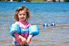 Lake Girl. Photo by Lindsay Griffiths. Copyright 2016. All rights reserved. (lindsaygriffithsphoto) Tags: kids children lakeplacid adirondacks lakes water beach mirrorlake