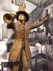 1-1 Nadelman Folk Art at NYHS (MsSusanB) Tags: nadelman nyhs folkart sculpture harryhoward fireman elie viola wood modernart
