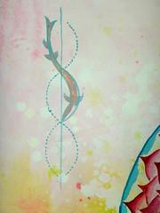 DSC096669 (scott_waterman) Tags: scottwaterman painting paper ink watercolor gouache lotus lotusflower detail pink
