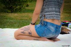 T'as tout 2 (AngelsPixel) Tags: tatoo tatouage sieste campagne portrait rveil sommeil
