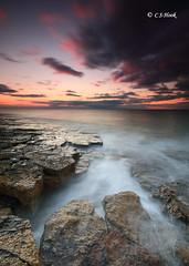 Low Newton Rock`s (carmellestewarthook) Tags: seascape lee 70d sunrise stewarthook low newton