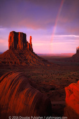 Monument Valley Tribal Park (buddyboy38) Tags: rainbow monunmentvalley tribalpark mittens southwest desertutah arizona