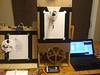 IMG_20160909_2152023 (mbells) Tags: 3dprint arduino drawbot kwartzlab makelangelo makerexpo lasercut make maker motor robot steppermotor