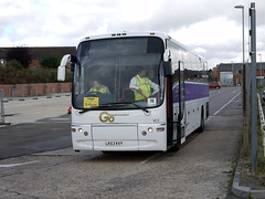 Go Ahead London Ex- National Express (Stansted) Volvo B12B Plaxton VC1 LK53KVY in Flitwick on Thameslink rail replacement work (Mark Bowerbank) Tags: go ahead london ex national express stansted volvo b12b plaxton vc1 lk53kvy flitwick thameslink rail replacement work