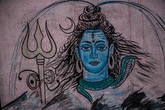 Varanasi (Jackson Pollard) Tags: varanasi uttar pradesh india asia travel religion spiritual river ganges haveli hindu hinduism street art dreadlocks baba ghat black white colour blackandwhite landscape portrait