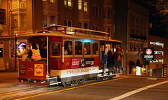 Hyde-Powell Cable Car (Hawkeye2011) Tags: california sanfrancisco usa 2016 transport railway cablecar nightphotography