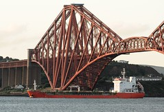 Winter Oak (Gerry Hill) Tags: winter oak imo 9438171 chemical tanker river forth south queensferry scotland 26th august 2016 ship rail bridge