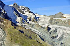 Flowing down (view from Gornergrat, Switzerland) (armxesde) Tags: pentax ricoh k3 schweiz switzerland alps alpen berge mountains snow schnee ice eis gletscher glacier gornergrat