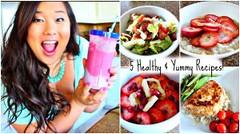 5 Healthy & Delicious Recipes! (Healthy Fun Fitness) Tags: 5 healthy delicious recipes