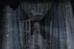 Spukhaus (sirona27) Tags: collage montage gebude figur texturen tren steine
