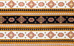 Traditional Bulgarian seamless embroidery (Simeo Donov) Tags: abstract art artwork background balkans black bulgaria bulgarian canvas cover craft culture decoration decorative detail eastern element embroidery ethnic european fabric fine folk material motive national needle needlecraft orange ornament ornamental pattern product seamless sewing slavic style symbol textile texture thread towel tradition traditional yellow