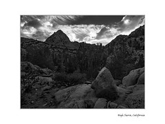 Rock and hard place (adonyvan) Tags: sierranevada easternsierra bishop california anseladams