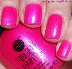 Finger Paints Where Art My Love? (ladybuglexus724) Tags: purple nail polish lacquer pink red holographic opi orly china glaze revlon finger paints